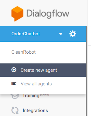 Receptionist Bot (RB) using dialogflow - Part 2 (build