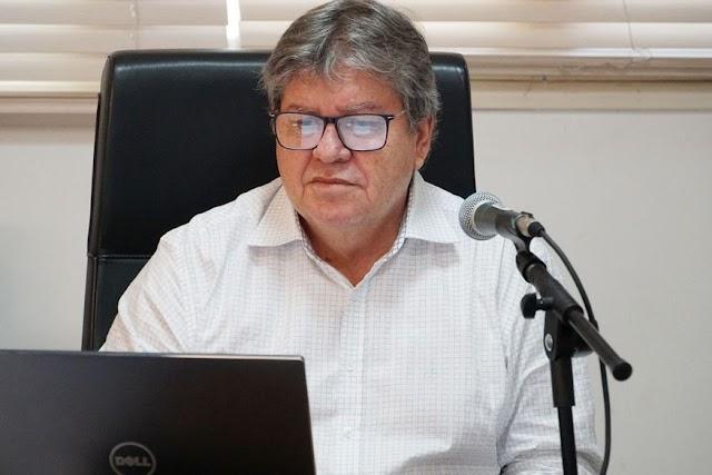 João Azevêdo e outros governadores se reúnem com o presidente Jair Bolsonaro nesta quinta-feira