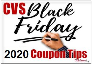cvs black friday coupon tips