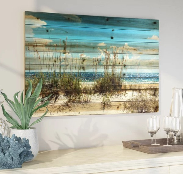 Coastal Ocean Wall Art Decor Ideas Interiors