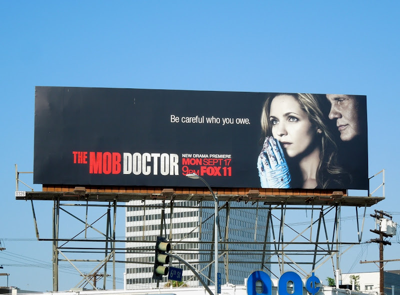Mob Doctor TV billboard