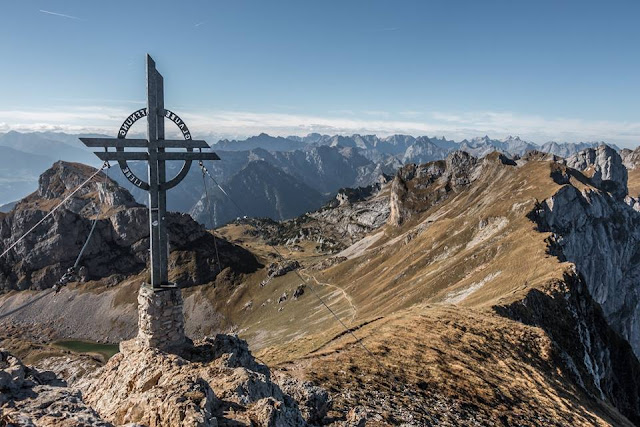 Gipfel Rofan Rofanspitze