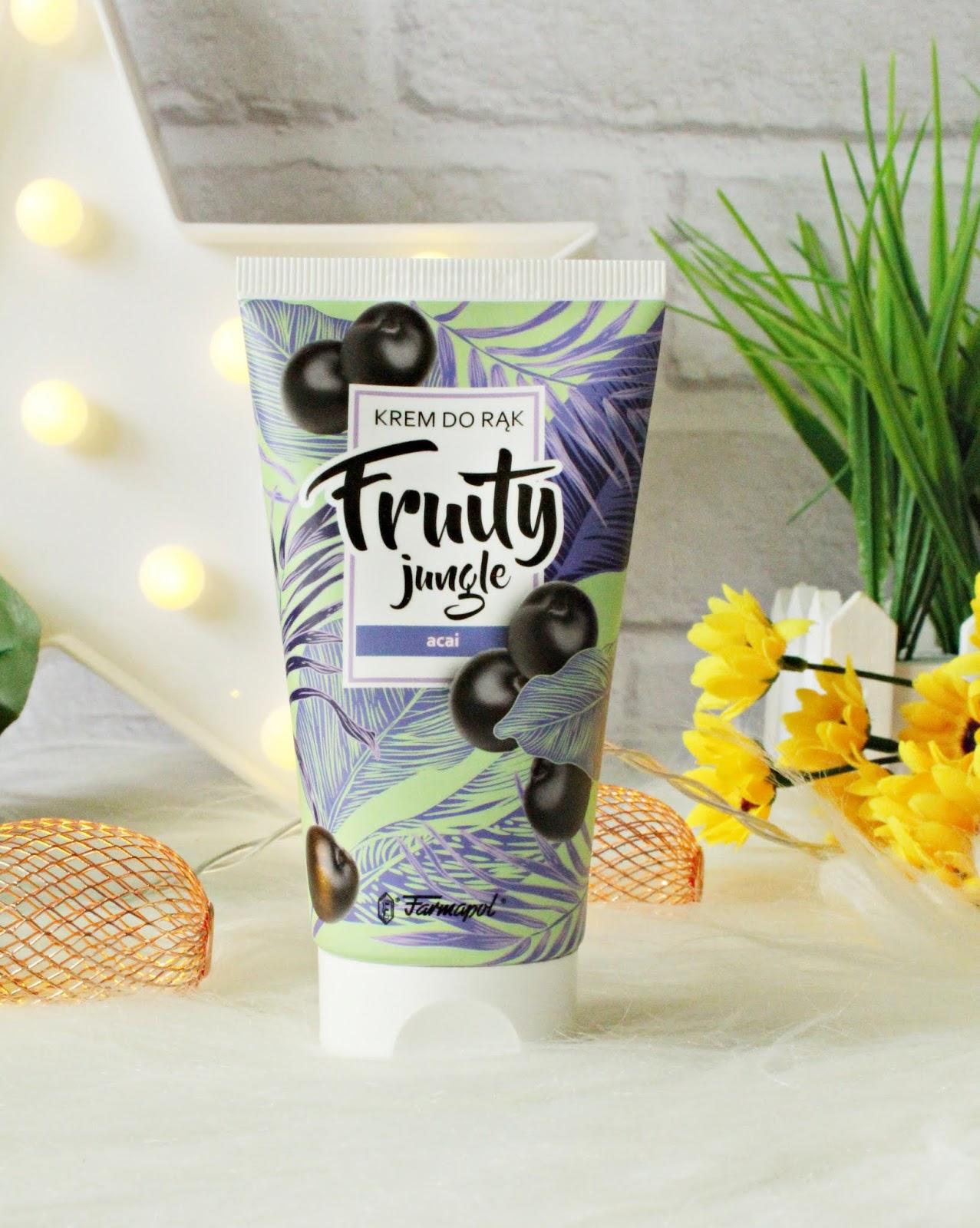 Fruity Jungle - kremy do rąk - acai i liczi