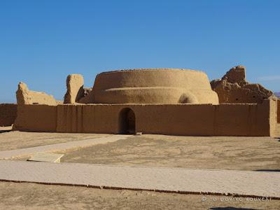 Κίνα, στο δρόμο του μεταξιού... Ερείπια μιας παλιάς πόλης / China, on the Silk Road