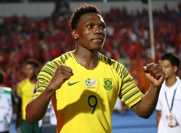 Bafana Bafana striker Lebo Mothiba