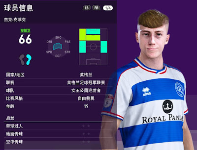 Jack Clarke Face For PES2020 by obeymyself