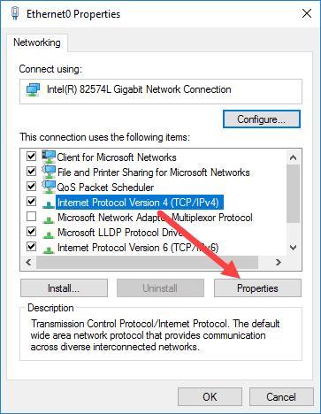 كيفية تكوين إعدادات الشبكة في Windows Server 2016