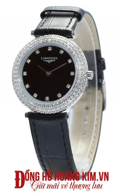 đồng hồ longines nữ dây da thời trang