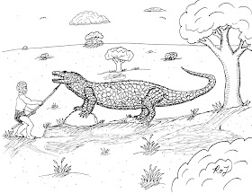 Prehistory Coloring Pages – Junior | Awakening Wonder | 215x280