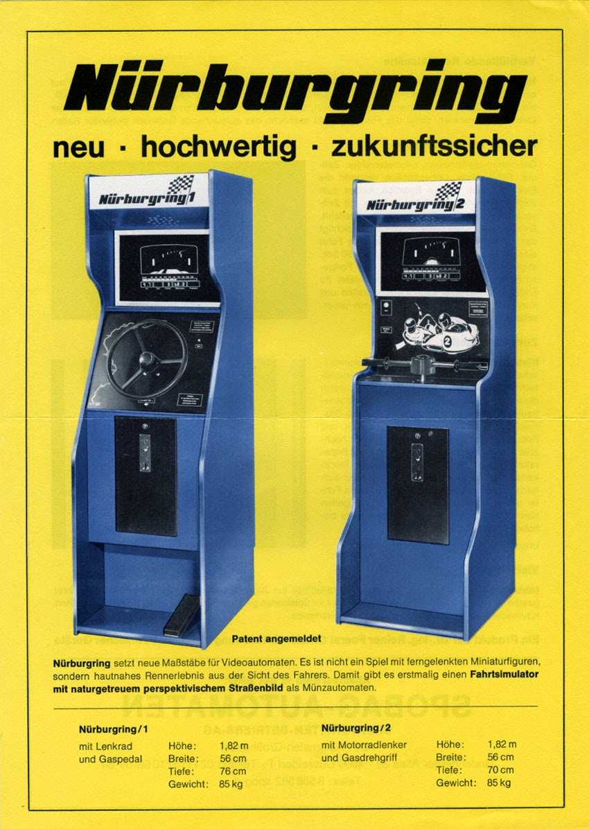 The Golden Age Arcade Historian About 1971 Speed Circuit Grand Prix Racing 3m Board Game Complete Granddaddy Of Them All Was Actually Produced Not In America But Germany And Started Three Years Earlier A Called Nurburgring By Dr Ing