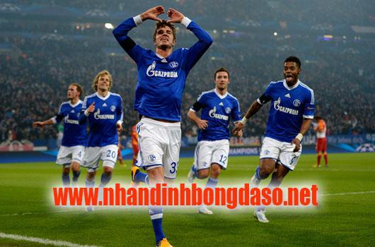 Schalke 04 vs Hannover 96 www.nhandinhbongdaso.net