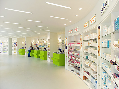 Imagine These: Retail Interior Design | Zoo-Pharmacy | Pforzheim