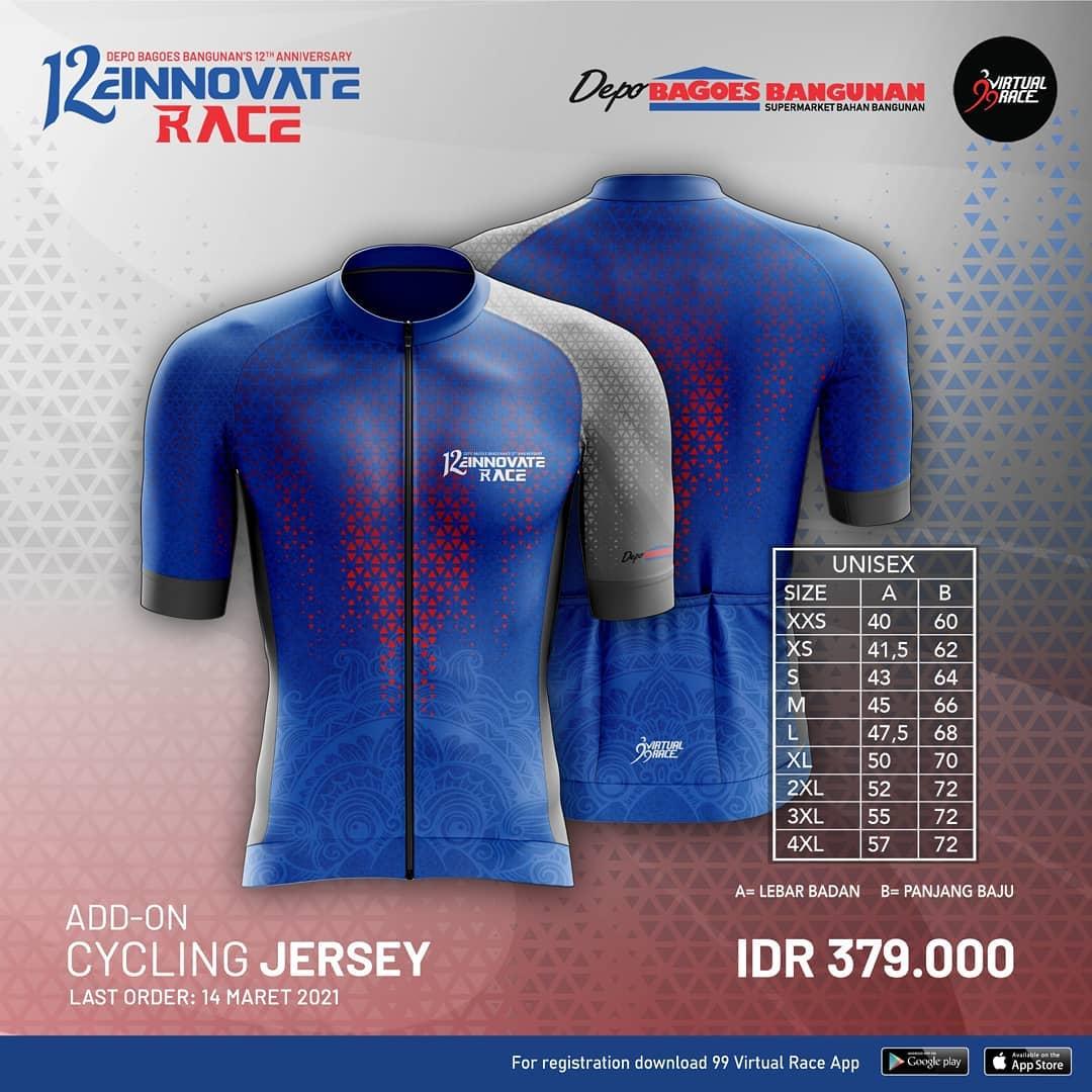 Cycling Jersey 🎽 12einnovate Race • 2021