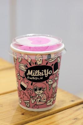 Milkiyo dan Es krim buah naga