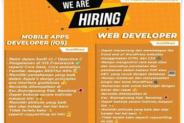 Lowongan Kerja Web Developer CV Pelita Abadi Solusindo
