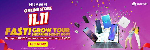 11.11 Campaign with Huawei Mega Online Sale Day