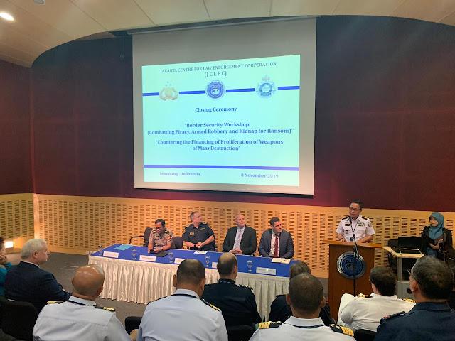 Bakamla RI/IDNCG Turut Semarakkan Border Security Workshop di JCLEC Semarang