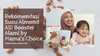 manfaat susu almond untuk ibu menyusui