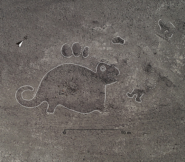 143 new Nazca geoglyphs discovered