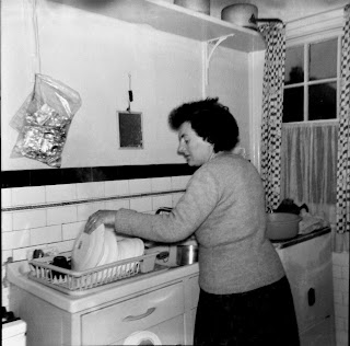 Mum's kitchen 1963