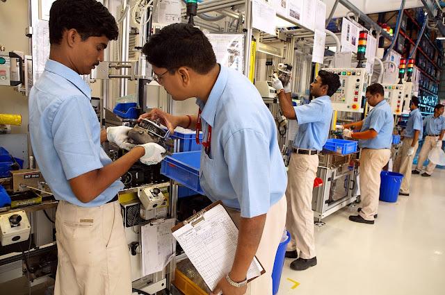 Manufacturing job in India