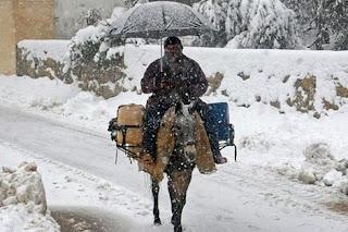 نشرة تحذيرية من أمطار رعدية وتساقطات ثلجية منذ اليوم