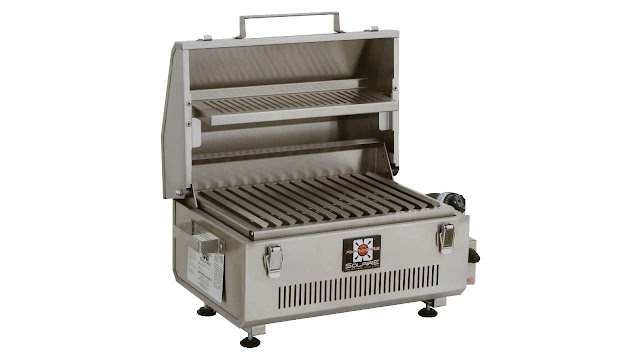Solaire Portable Infrared Warming Rack Gas Grill
