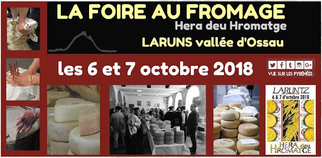 La Foire au fromage Laruns 2018