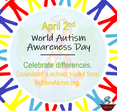 On April 2nd, take a moment to learn more about those with autism and celebrate those differences.