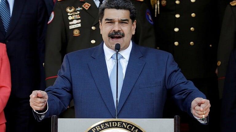 مادورو-يحتفل-بوصول-أولى-ناقلات-النفط-الإيرانية-الخمس-احتفل-الرئيس