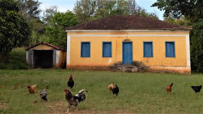 Antiga sede da Fazenda Benedetti.