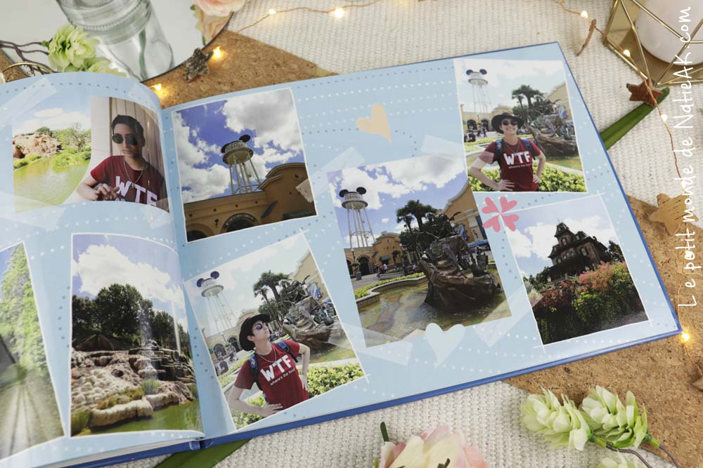 livre photo myfujifilm Disneyland Paris
