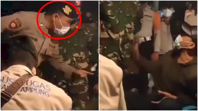 Dibentak Polisi saat Razia PPKM, Pedagang Ngamuk: Bapak Masih Gajian, Saya Gak Buka Gak Makan!
