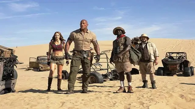 Movie Reviews : Review and Synopsis Jumanji:The next level (2019)