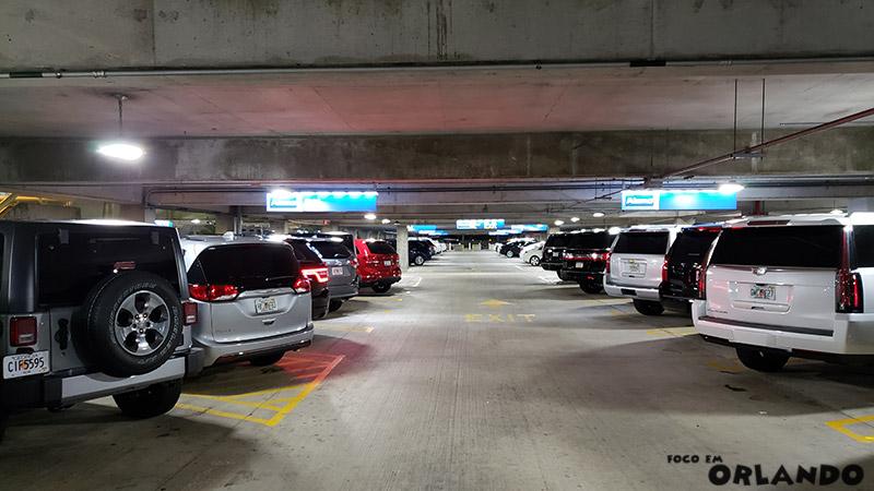Setor dos Standard SUVs da Alamo.