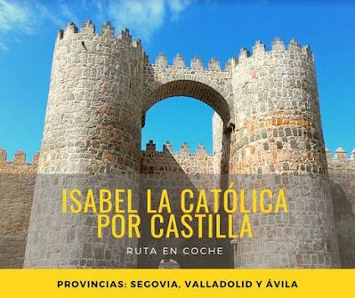 viajar en coche por España Castilla León