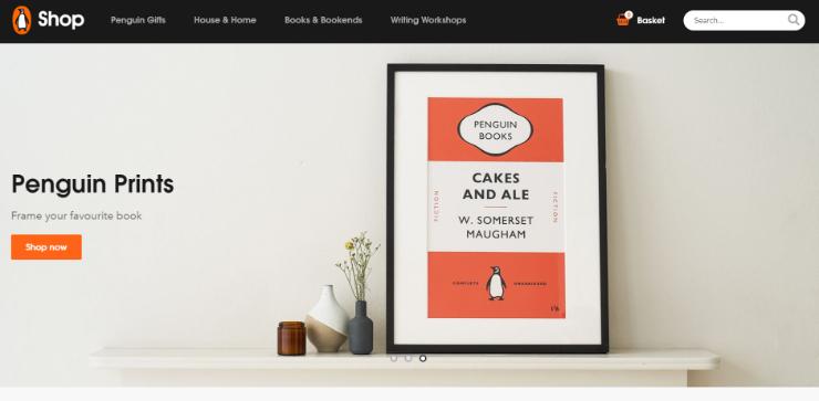 Penguin Books (UK) menggunakan Shopify