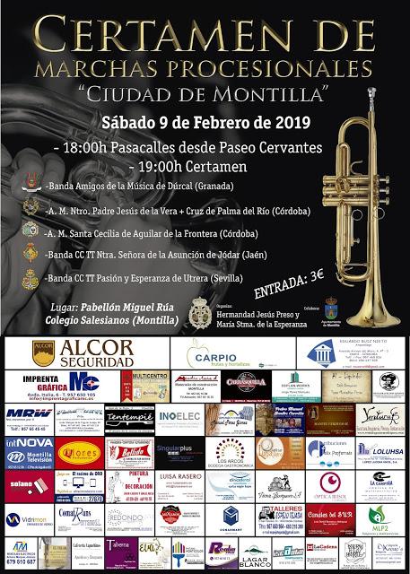 """Certamen de Marchas Procesionales """"Ciudad de Montilla"""""""