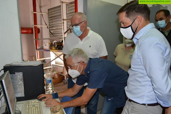 El Cabildo ejecuta el 92% de las obras de la estación de bombeo de Aduares