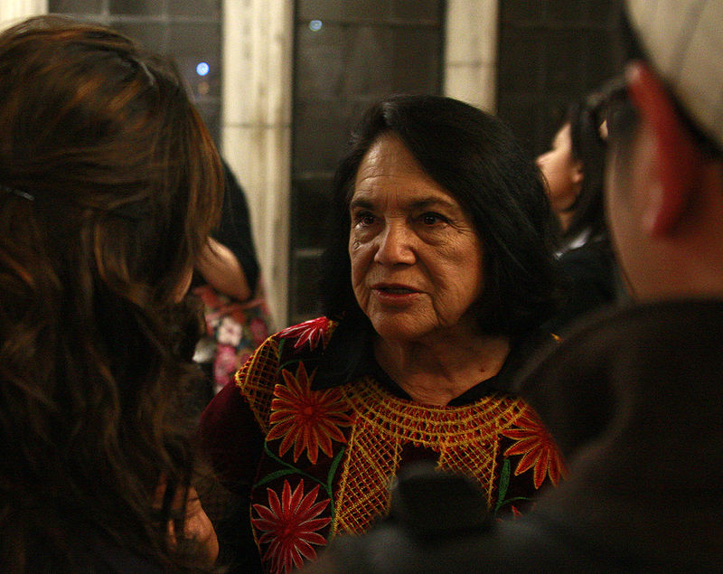 Dolores Huerta at University of Chicago in 2009