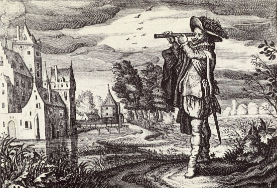 Engraving by Adriaen van de Venne, 1624