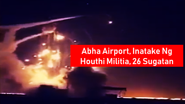 "The Saudi-led Arab coalition confirmed Yemen's Houthi group launched overnight a ""terrorist"" attack against Saudi Arabia's Abha airport.  Ads      Saudi Arabia's Abha International Airport has been attacked by Iran-aligned Houthi group, injuring 26 civilians of different nationalities, the country's officials confirmed as they promise to deliver a ""firm"" response.   Eight of the people injured have been transferred to hospital, while 18 more were treated on site after suffering minor wounds.  Among those wounded in the attack, there are three women of Yemeni, Indian and Saudi nationality, and two Saudi children.  The structure of the Abha International Airport also suffered damages, according to Colonel Turki al-Maliki.  Ads  Sponsored Links   A total of 26 civilian passengers of different nationalities were injured by the projectile, including three women (Yemeni, Indian, Saudi) and two Saudi children, Colonel Al- Maliki said, citing the tally up to the time of preparation of this statement.  Eight cases were transferred to hospital for treatment for moderate injuries, while 18 were treated at the site for minor injuries. There was also some physical damage to the airport lounge.  Colonel Almalki said that the military and security forces are working to determine the type of projectile used in the terrorist attack, at a time when the terrorist Iran-backed Houthi militia, claimed through its media full responsibility for this terrorist attack saying it used a cruise missile, which constitutes a clear recognition and full responsibility for targeting civilians and civilian objects that are subject to special protection under international humanitarian law, and thus could amount to a war crime of targeting civilians and civilian objects in a systematic manner."