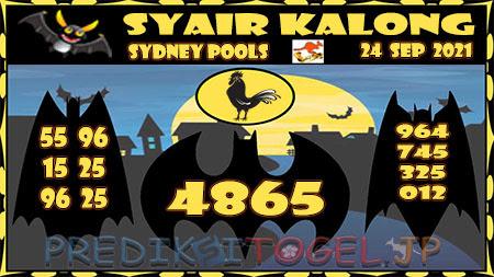 Prediksi Togel Kalong Sidney Jumat 24 September 2021