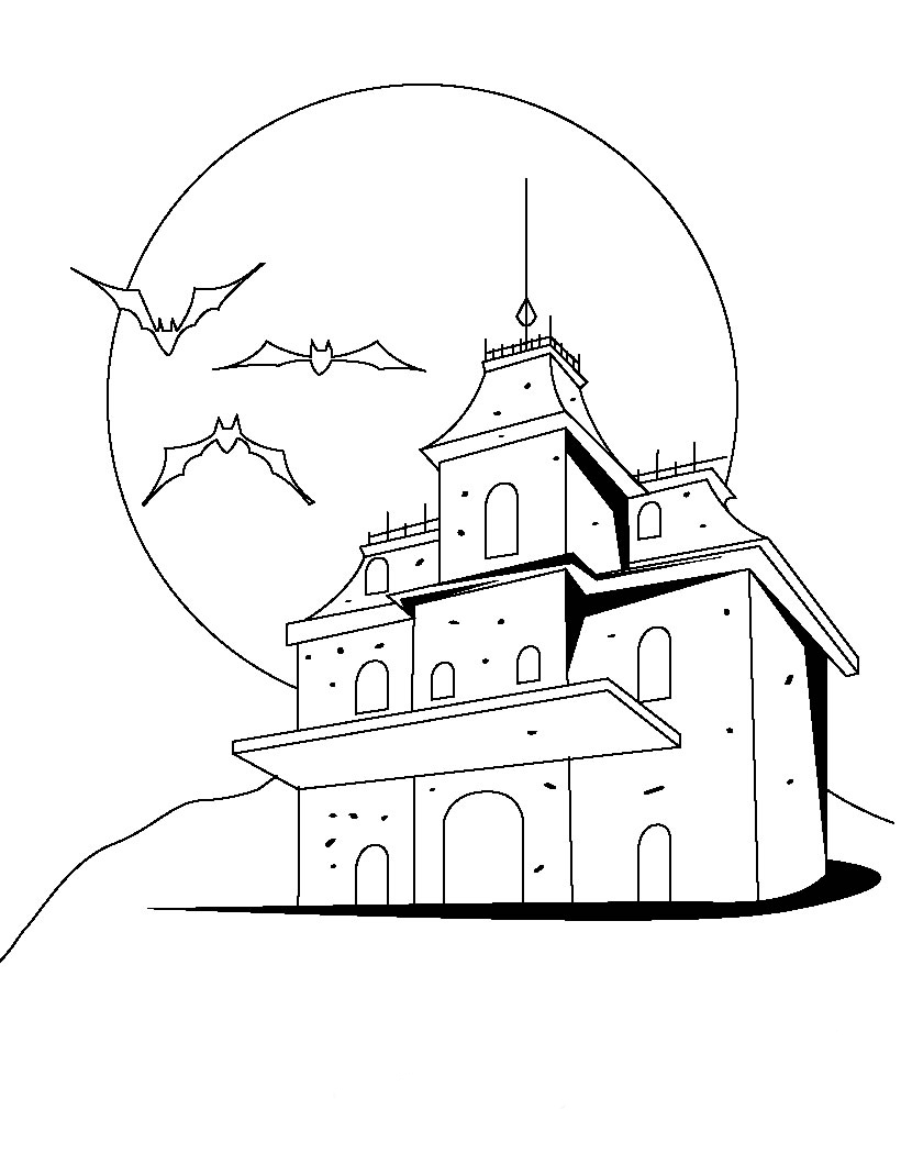 Luigis Mansion Dark Moon Coloring Pages Coloring Pages