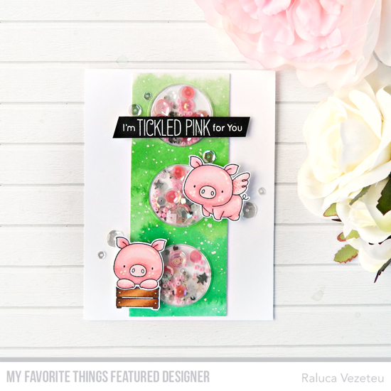 Handmade card by Raluca Vezeteu featuring products from My Favorite Things #mftstamps