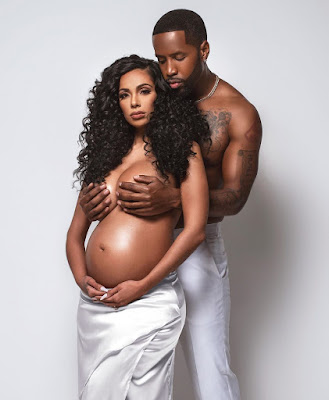 Erica mena maternity shoot phoyos