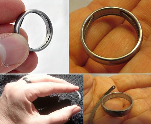 Titanium Survival Ring