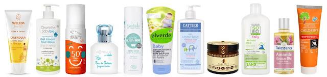 marques de cosmétiques sains pour enfants