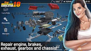 Car Mechanic Simulator 18 v1.0.8 Mod