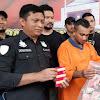 Jumpa Pers Kapolrestabes Didampingi Kasatreskrim, Tertangkapnya Pembobol ATM Warga Negara Malaisya, Uang Rp 100 Juta Disita